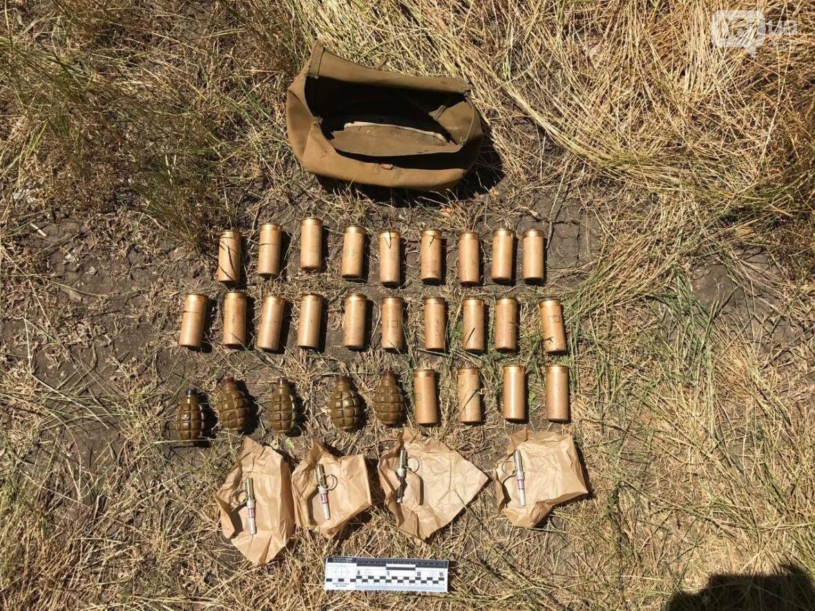 Под Мелитополем нашли тайник с боеприпасами, — ФОТО, фото-1
