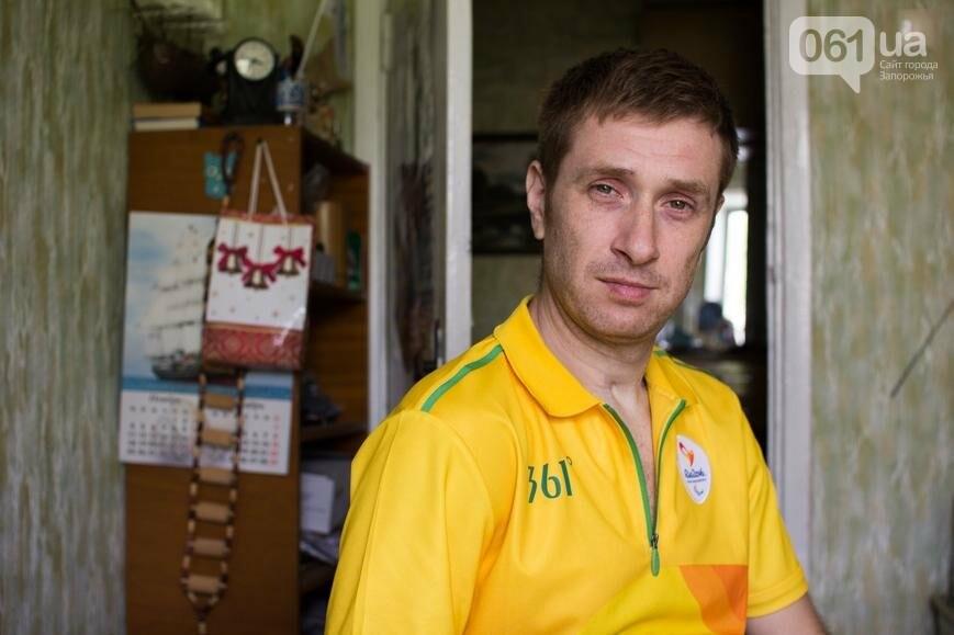 """Алексей Чабанов: """"Вот бы посадить кого-то из мэрии в коляску, чтобы проехался по Запорожью, и почувствовал, как это"""", фото-1"""
