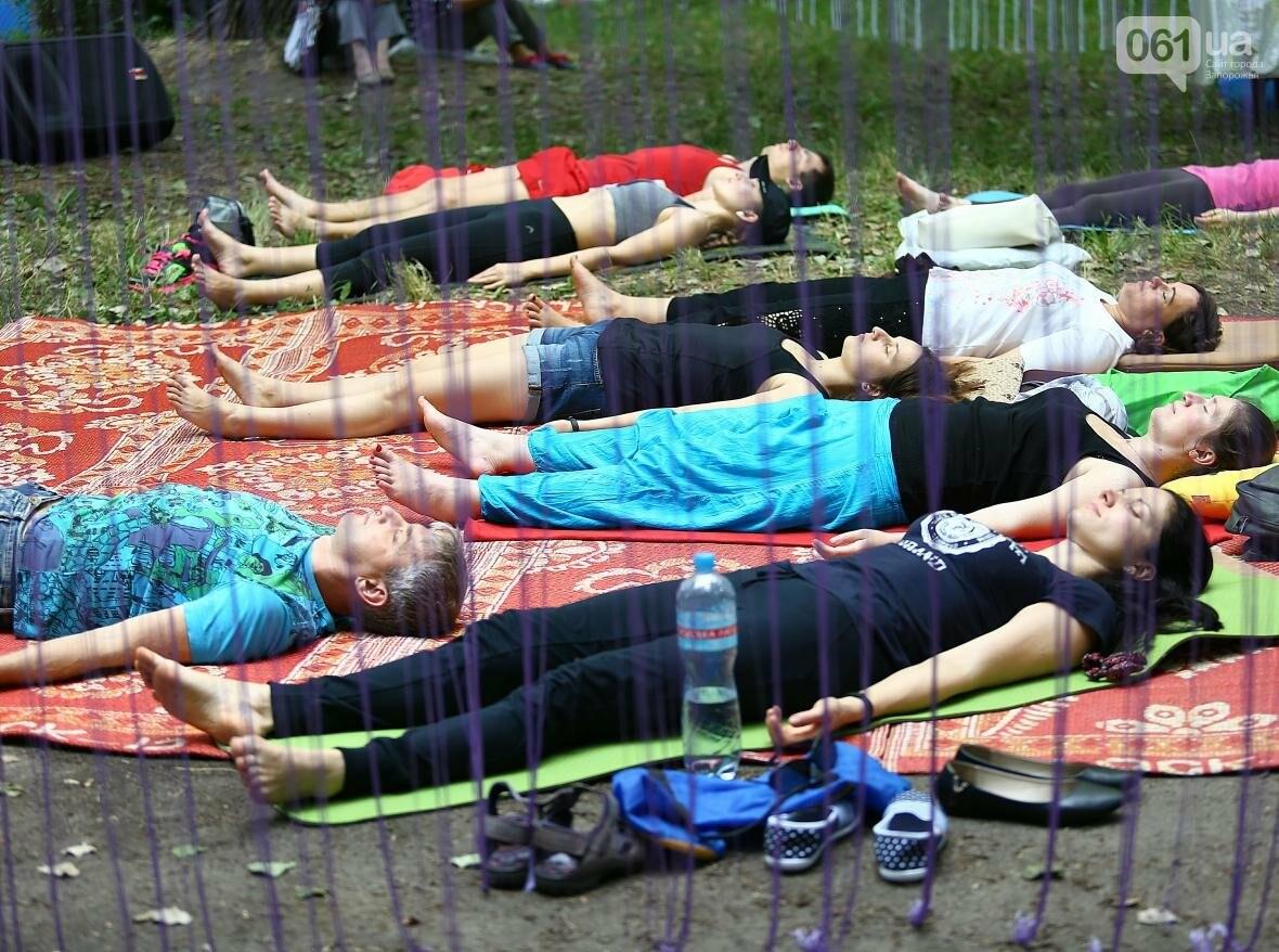 В Запорожском парке отметили международный день йоги, - ФОТОРЕПОРТАЖ, фото-7