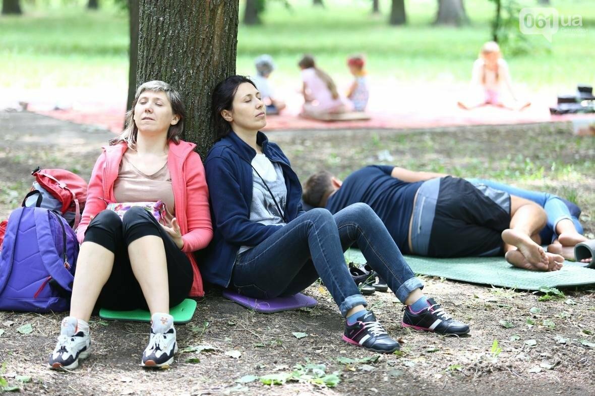 В Запорожском парке отметили международный день йоги, - ФОТОРЕПОРТАЖ, фото-13