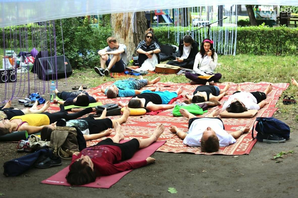 В Запорожском парке отметили международный день йоги, - ФОТОРЕПОРТАЖ, фото-5