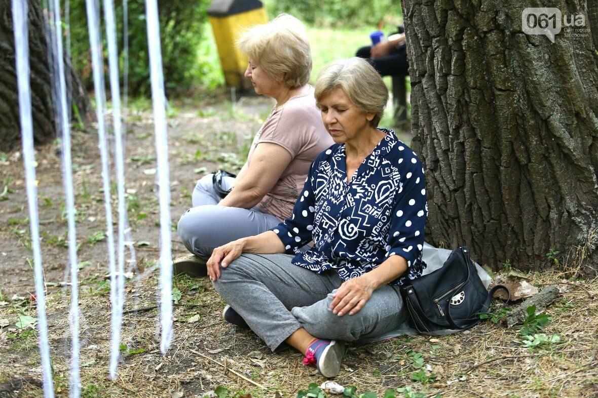 В Запорожском парке отметили международный день йоги, - ФОТОРЕПОРТАЖ, фото-15