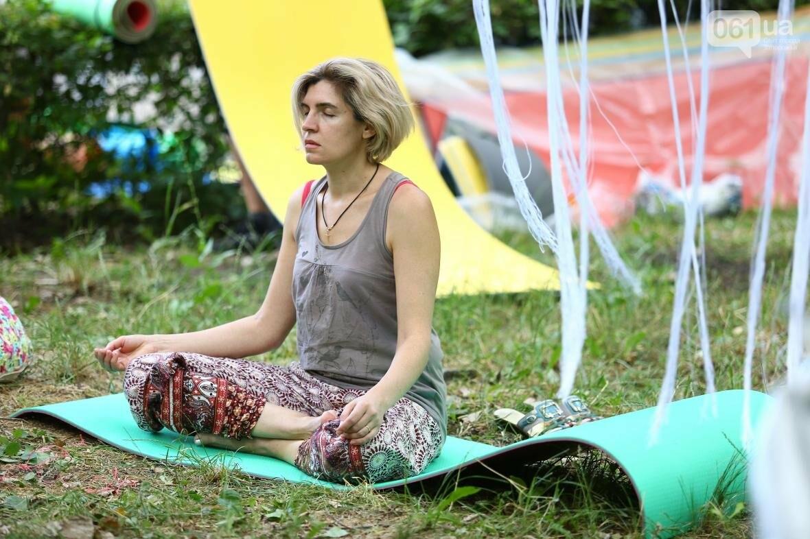 В Запорожском парке отметили международный день йоги, - ФОТОРЕПОРТАЖ, фото-8