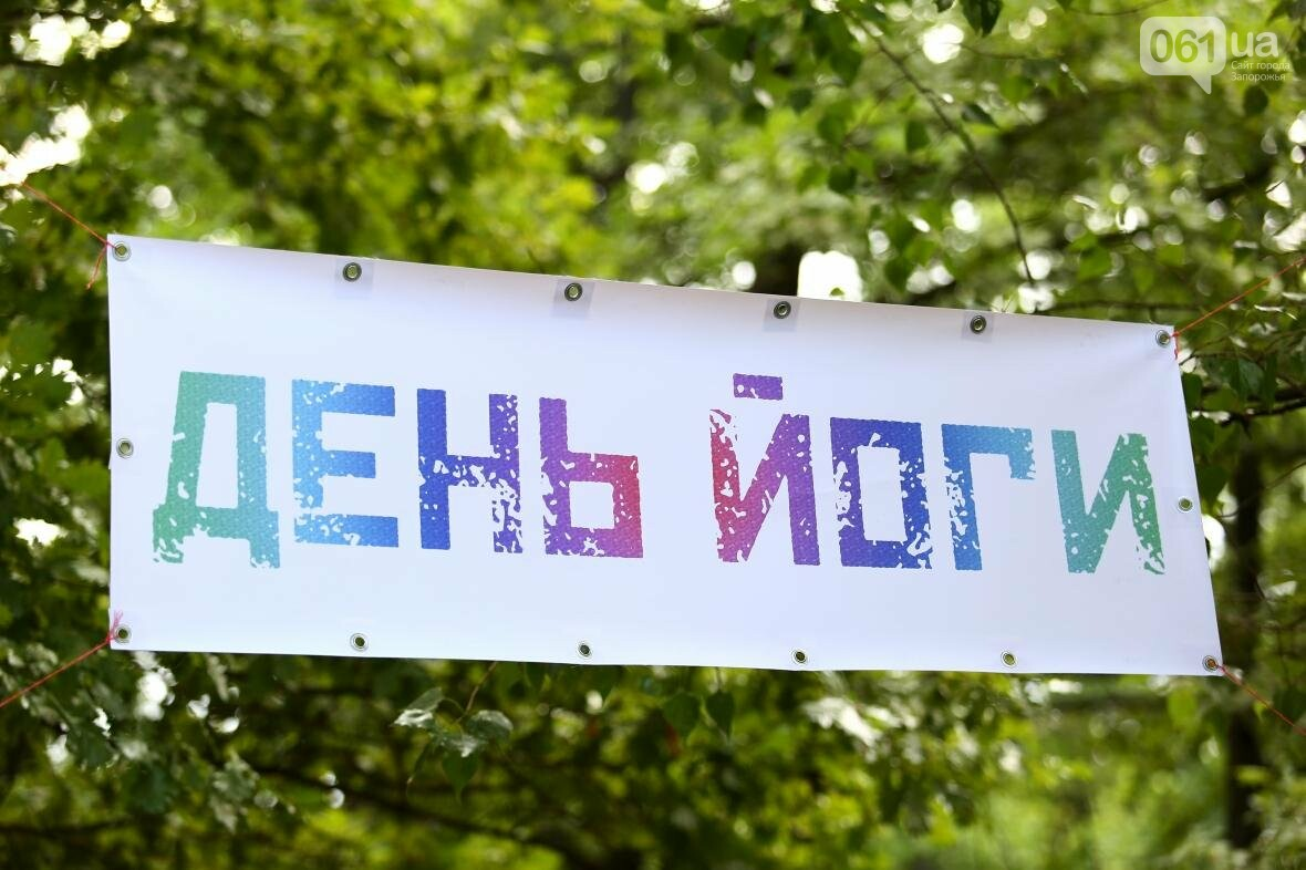 В Запорожском парке отметили международный день йоги, - ФОТОРЕПОРТАЖ, фото-17