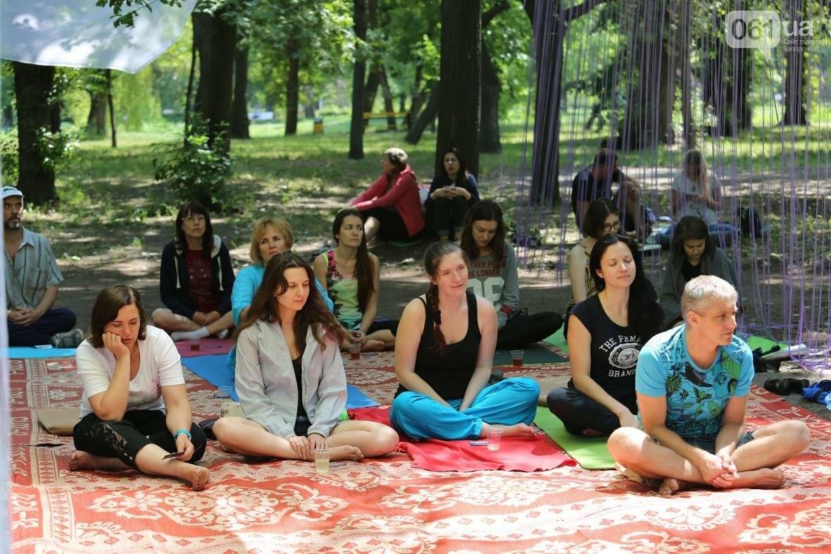 В Запорожском парке отметили международный день йоги, - ФОТОРЕПОРТАЖ, фото-16
