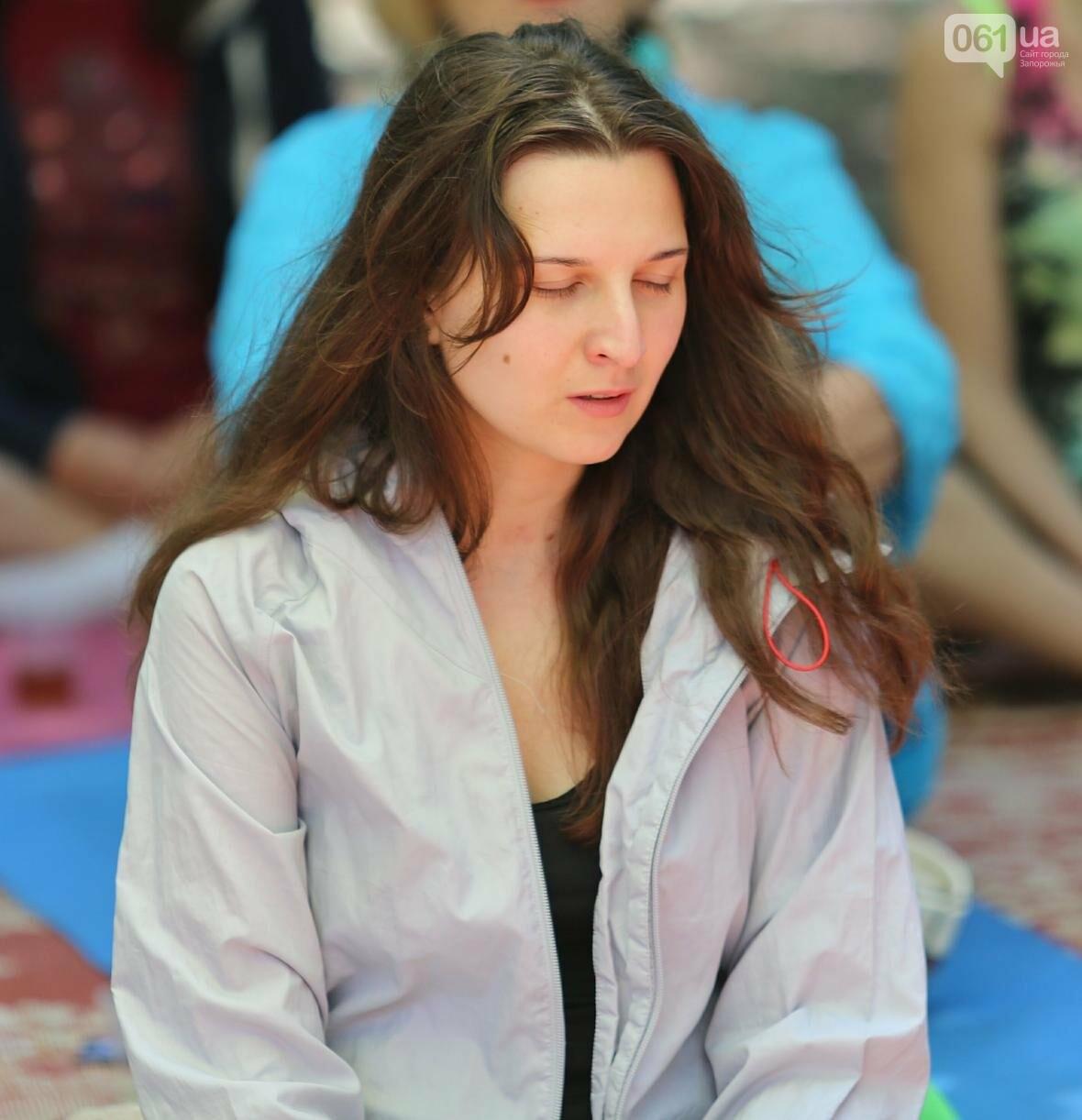 В Запорожском парке отметили международный день йоги, - ФОТОРЕПОРТАЖ, фото-3