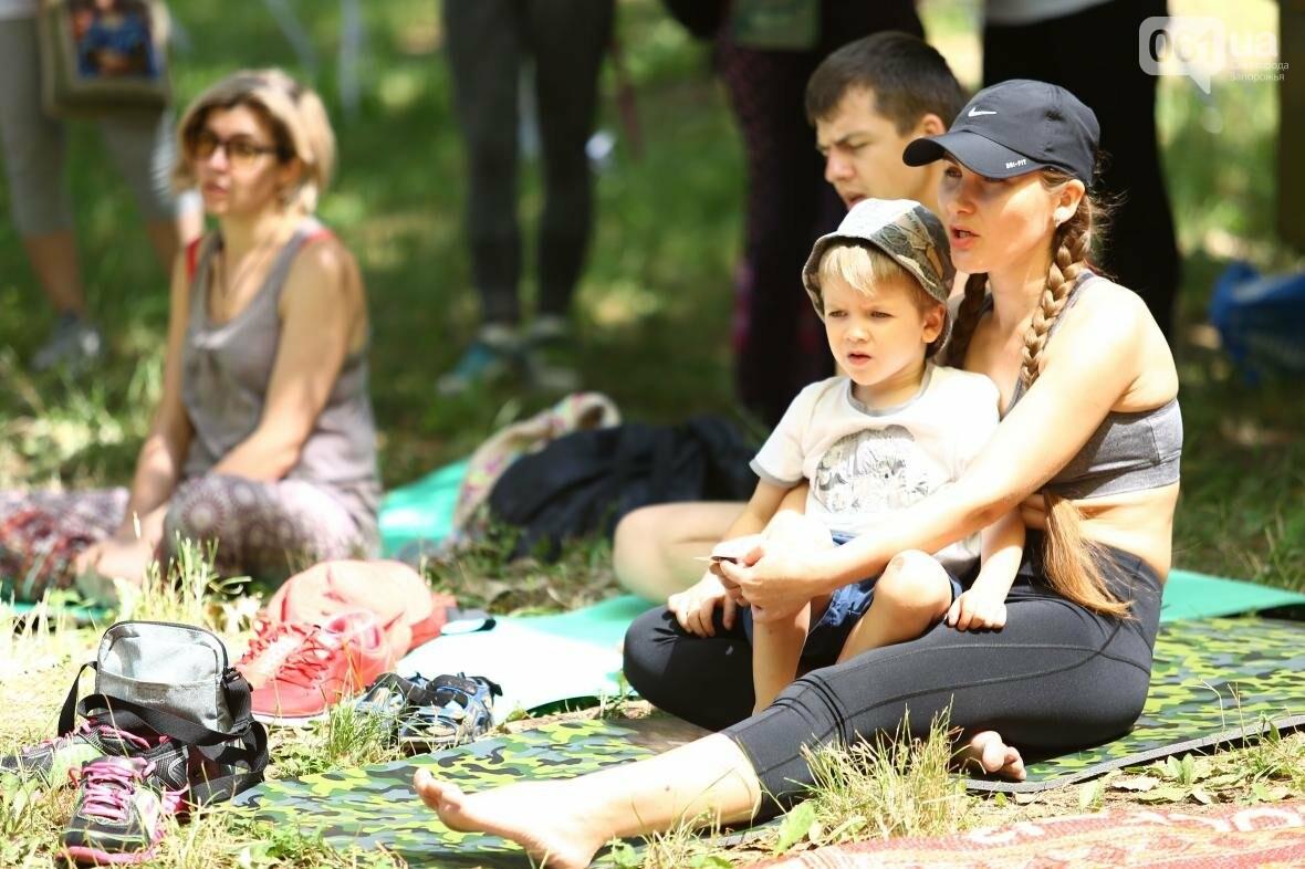 В Запорожском парке отметили международный день йоги, - ФОТОРЕПОРТАЖ, фото-4