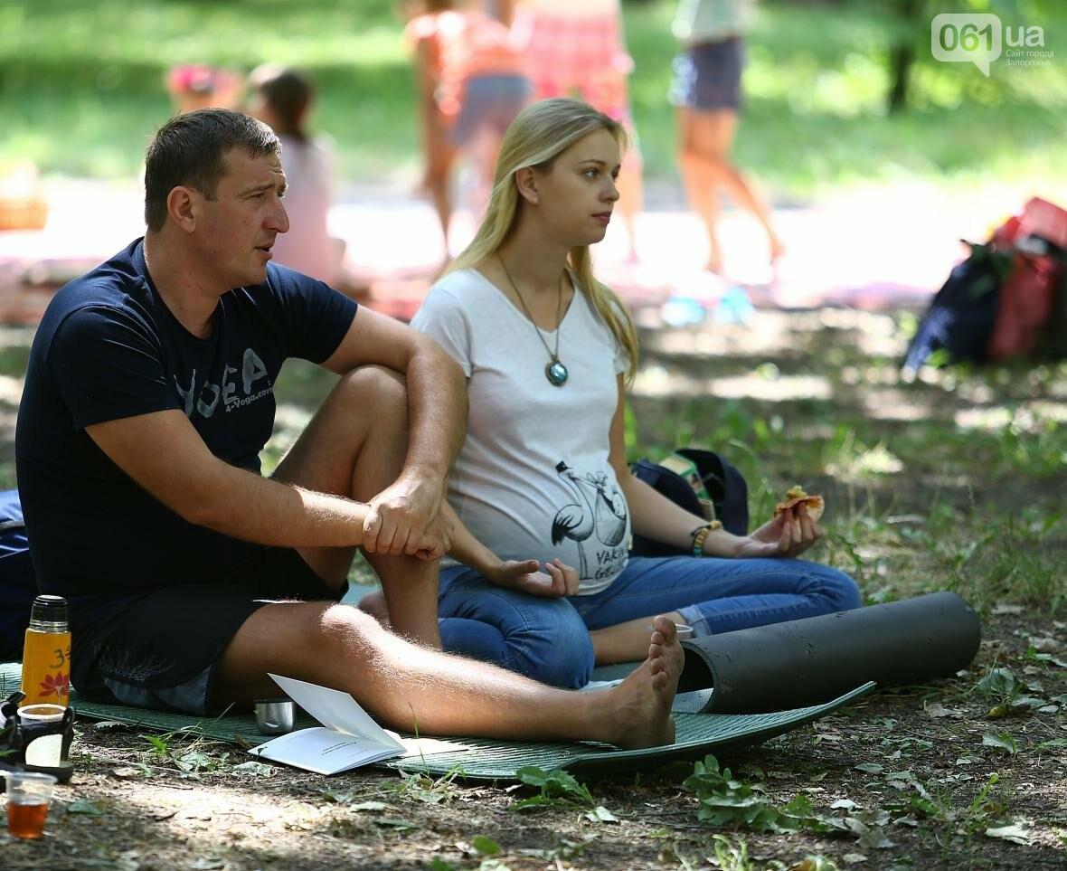 В Запорожском парке отметили международный день йоги, - ФОТОРЕПОРТАЖ, фото-9