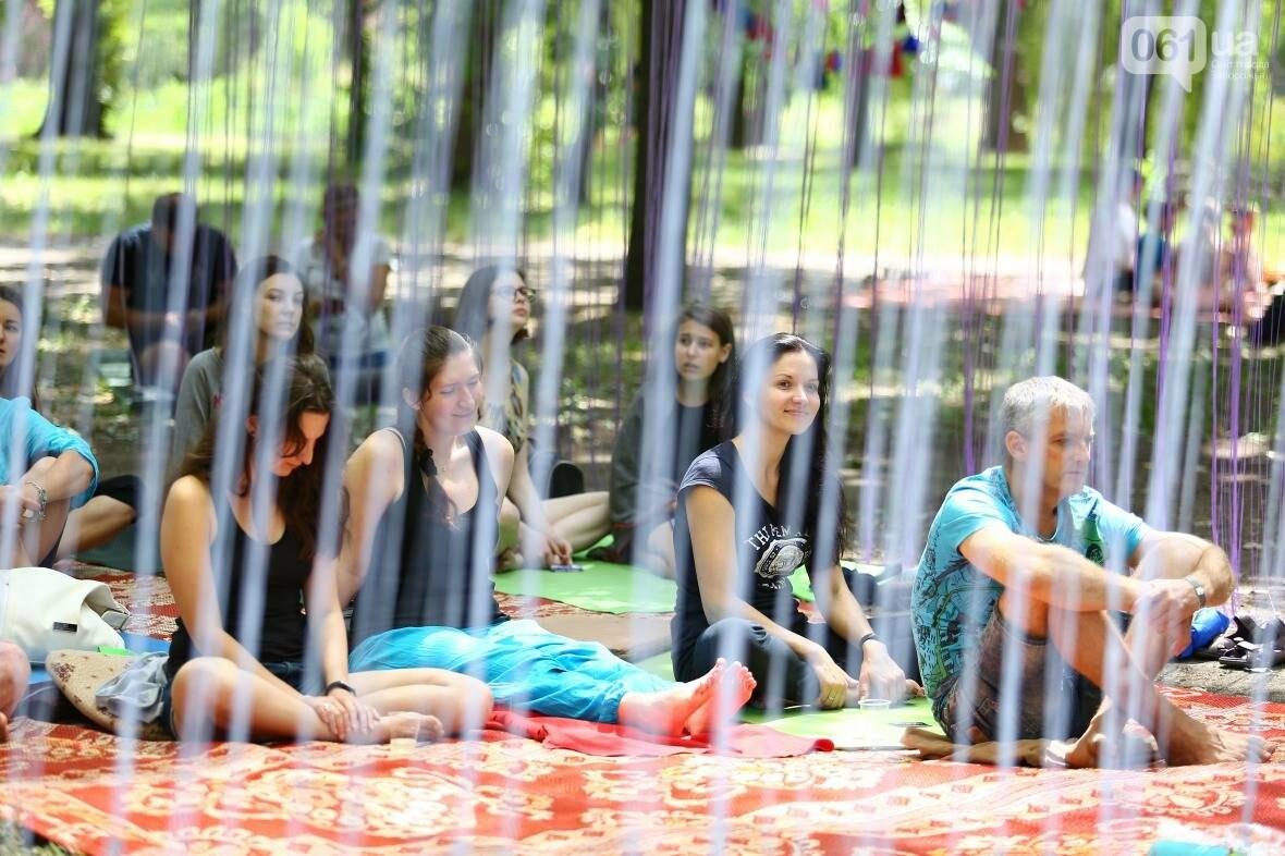 В Запорожском парке отметили международный день йоги, - ФОТОРЕПОРТАЖ, фото-18