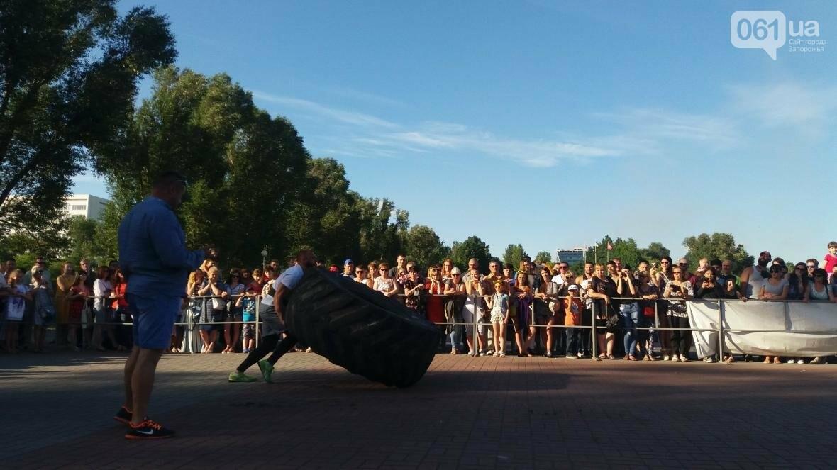 Штанги, мешки и автомобиль: на «Радуге» запорожские богатыри показывали казацкую силу, – ФОТОРЕПОРТАЖ, фото-8