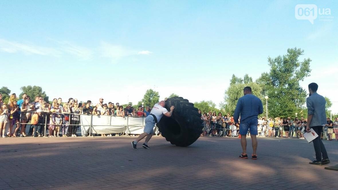 Штанги, мешки и автомобиль: на «Радуге» запорожские богатыри показывали казацкую силу, – ФОТОРЕПОРТАЖ, фото-9