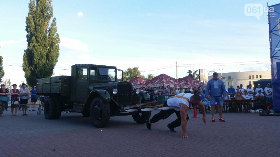 Штанги, мешки и автомобиль: на «Радуге» запорожские богатыри показывали казацкую силу, – ФОТОРЕПОРТАЖ, фото-17