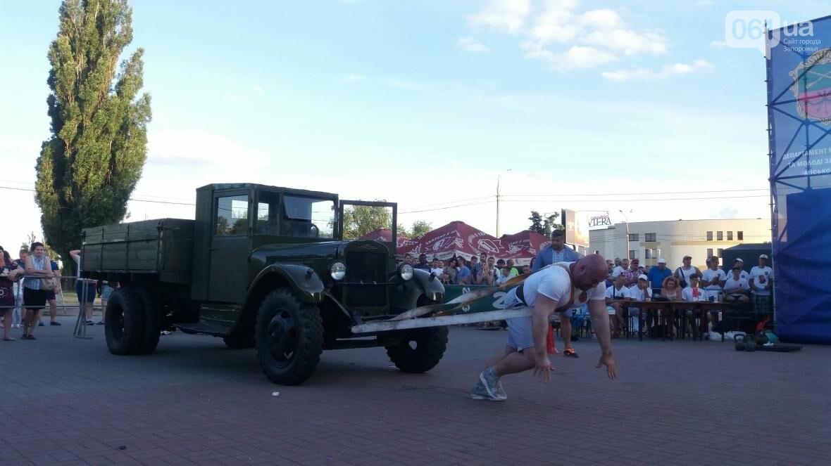 Штанги, мешки и автомобиль: на «Радуге» запорожские богатыри показывали казацкую силу, – ФОТОРЕПОРТАЖ, фото-18