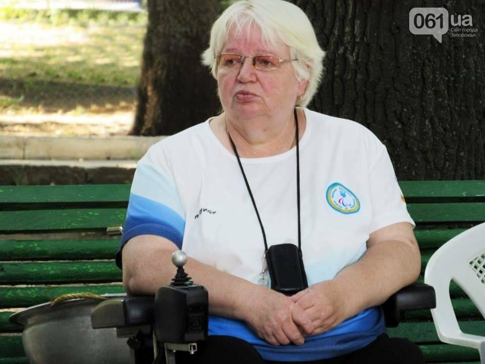 В Мелитополе у паралимпийской спортсменки украли инвалидную коляску, фото-1