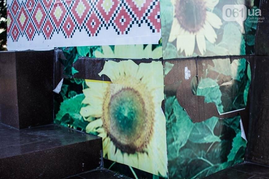 Ямы, разбитая плитка и переполненные урны: фотопрогулка возле речного порта и площади Запорожской, фото-2