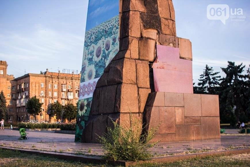 Ямы, разбитая плитка и переполненные урны: фотопрогулка возле речного порта и площади Запорожской, фото-5