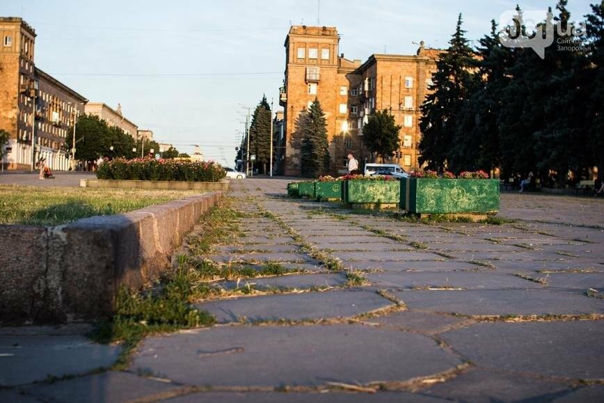 Ямы, разбитая плитка и переполненные урны: фотопрогулка возле речного порта и площади Запорожской, фото-6