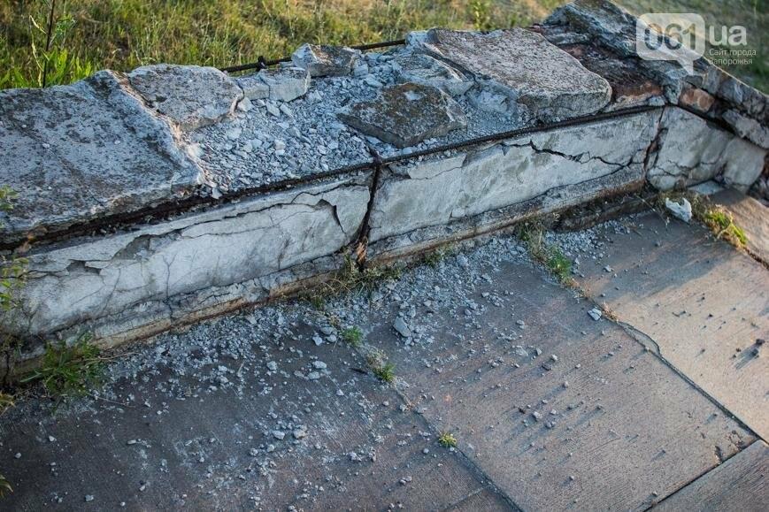 Ямы, разбитая плитка и переполненные урны: фотопрогулка возле речного порта и площади Запорожской, фото-23