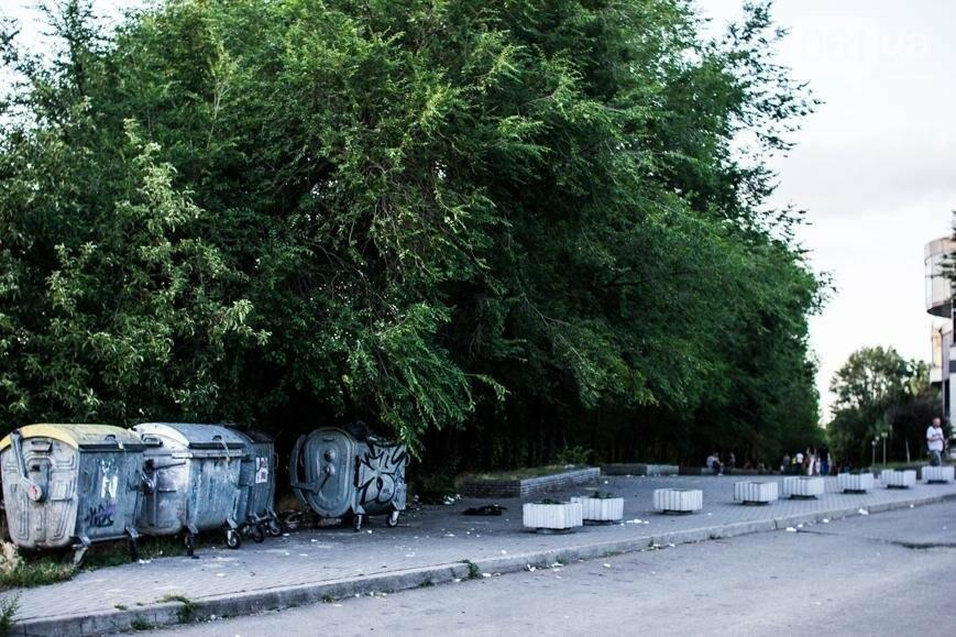 Ямы, разбитая плитка и переполненные урны: фотопрогулка возле речного порта и площади Запорожской, фото-29