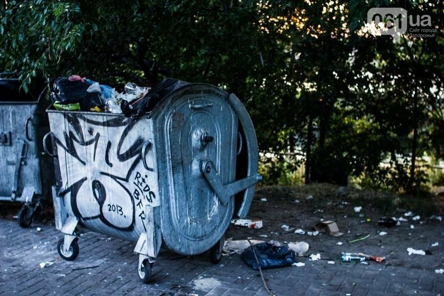 Ямы, разбитая плитка и переполненные урны: фотопрогулка возле речного порта и площади Запорожской, фото-30