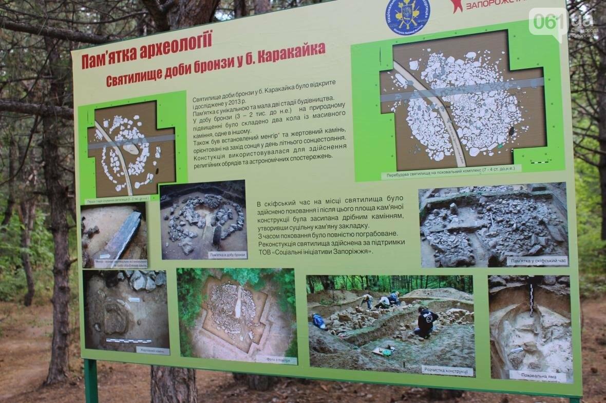 Древнее святилище и скифское захоронение: на запорожской Хортице открыли новый туристический объект, — ФОТОРЕПОРТАЖ, фото-4