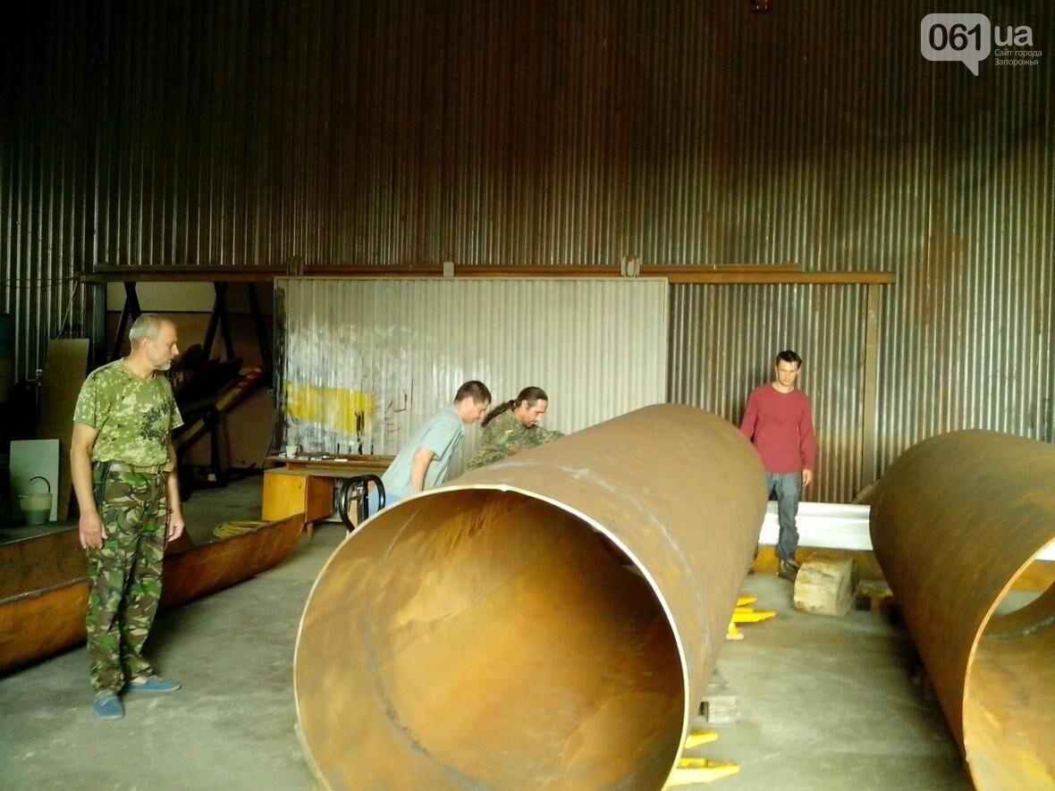 Запорожские историки готовятся к реставрации старинной лодки со дна Днепра по уникальной технологии, — ФОТО, фото-1
