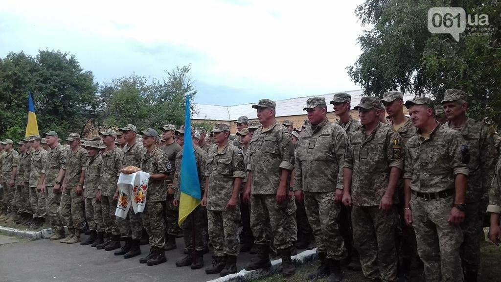 Запорожские артиллеристы вернулись из зоны АТО, – ФОТО, фото-1