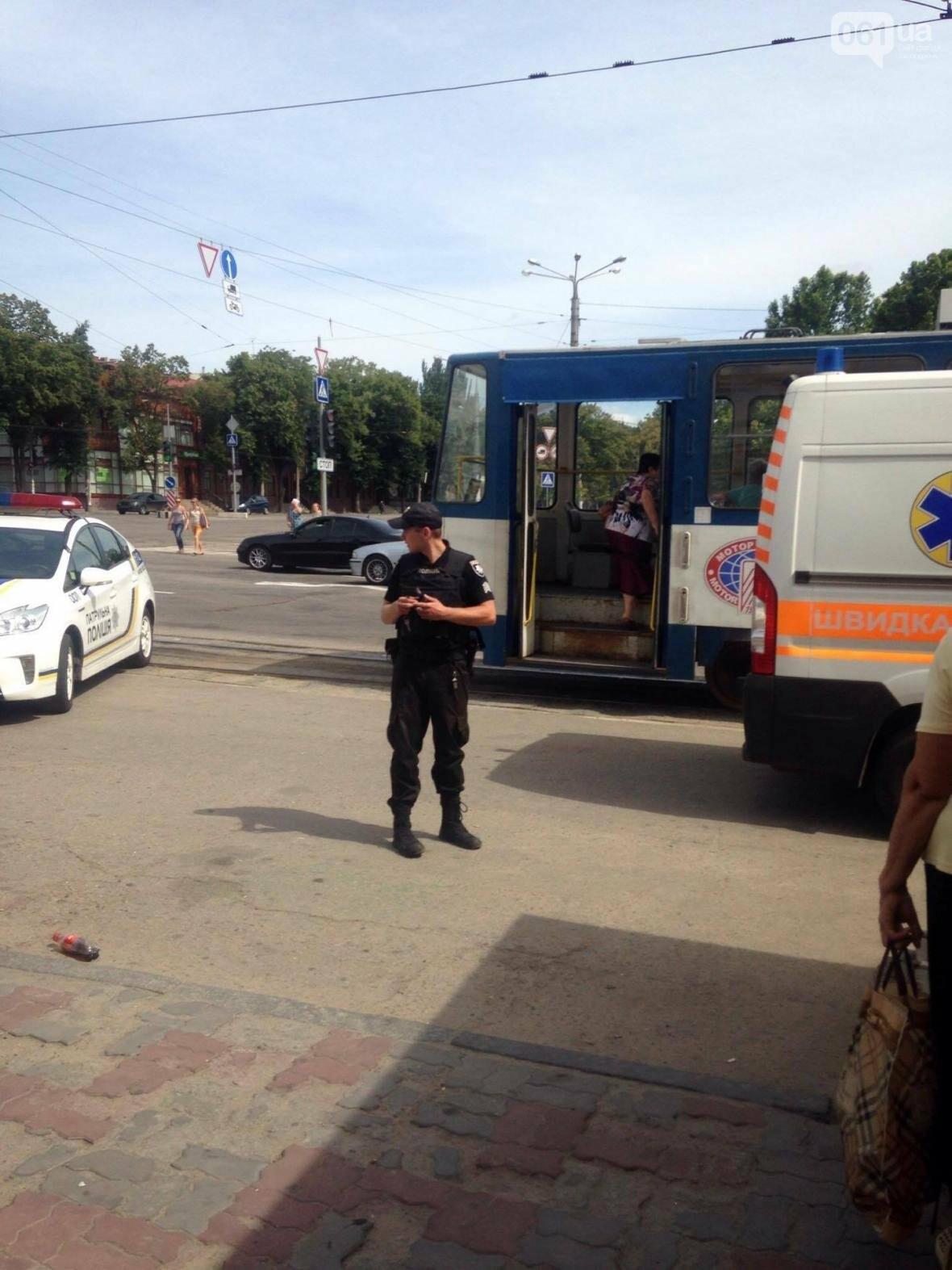 В центре Запорожья мужчина выстрелил женщине в живот, - ФОТО, фото-1