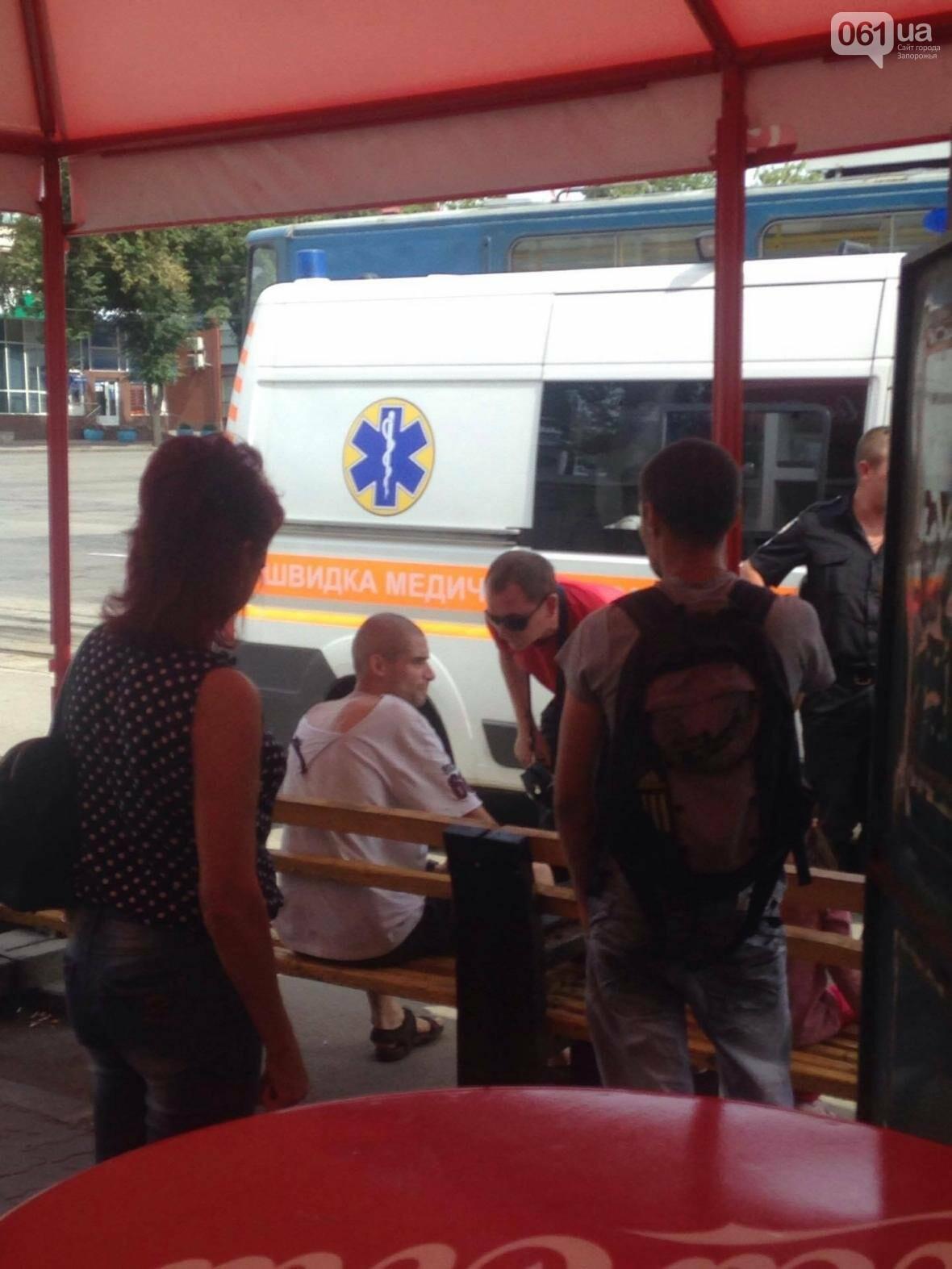 В центре Запорожья мужчина выстрелил женщине в живот, - ФОТО, фото-5