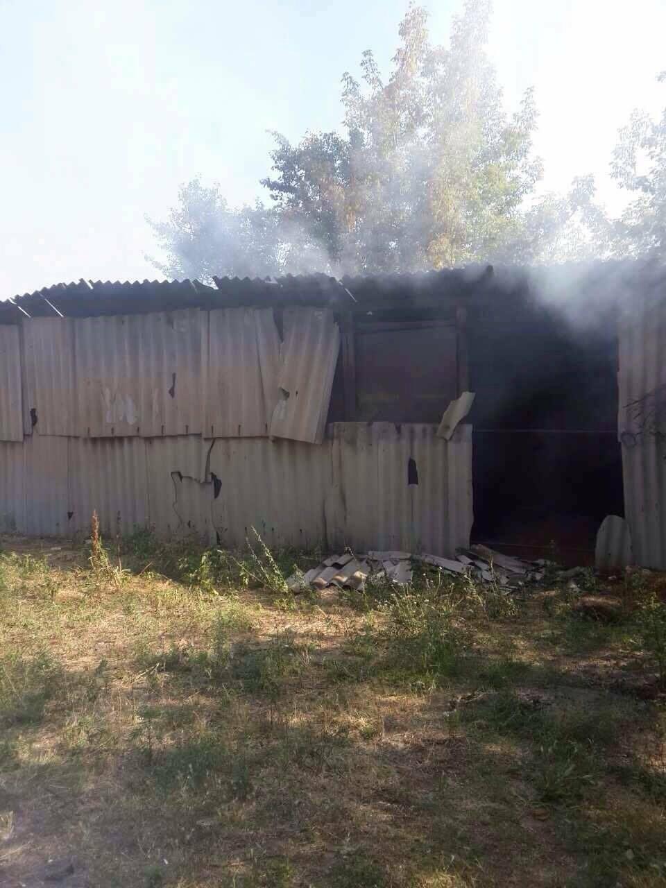Ночью на Хортице горела конюшня: в администрации заповедника уверены, что это поджог, - ФОТО , фото-1