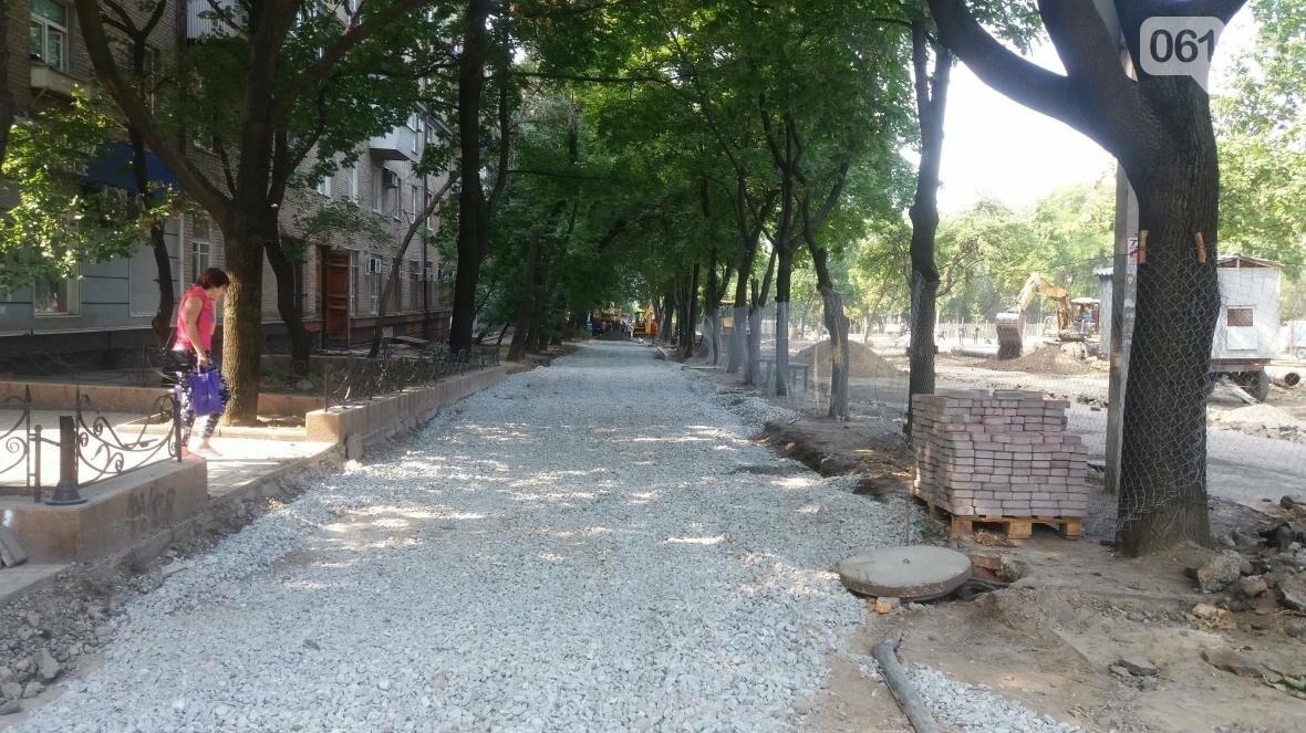 Реконструкцию проспекта Маяковского обещают закончить до 1 сентября: на каком этапе работы, — ФОТОРЕПОРТАЖ, фото-14