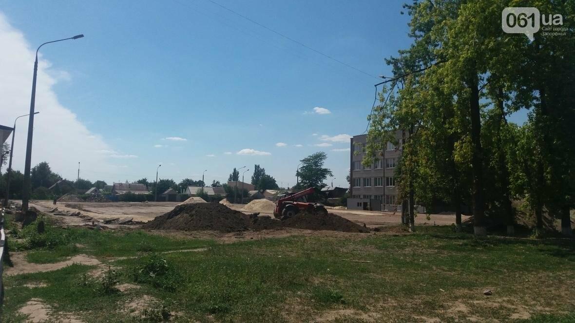 В Запорожье реконструируют школьные стадионы за 60 миллионов гривен, — ФОТОРЕПОРТАЖ, фото-9