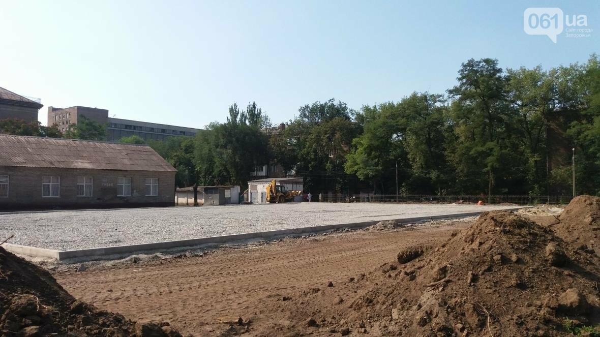 В Запорожье реконструируют школьные стадионы за 60 миллионов гривен, — ФОТОРЕПОРТАЖ, фото-4