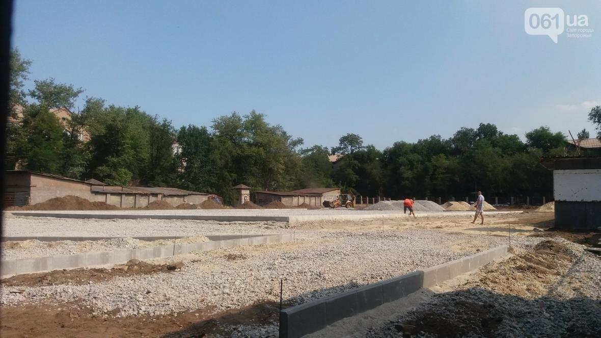 В Запорожье реконструируют школьные стадионы за 60 миллионов гривен, — ФОТОРЕПОРТАЖ, фото-3