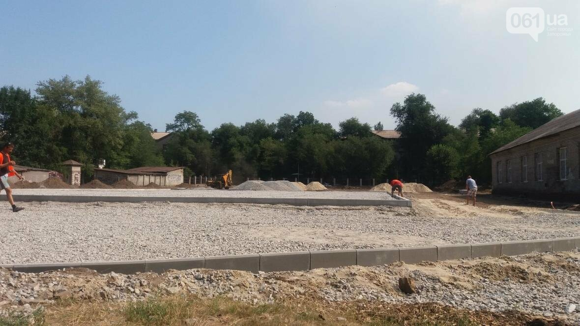 В Запорожье реконструируют школьные стадионы за 60 миллионов гривен, — ФОТОРЕПОРТАЖ, фото-7