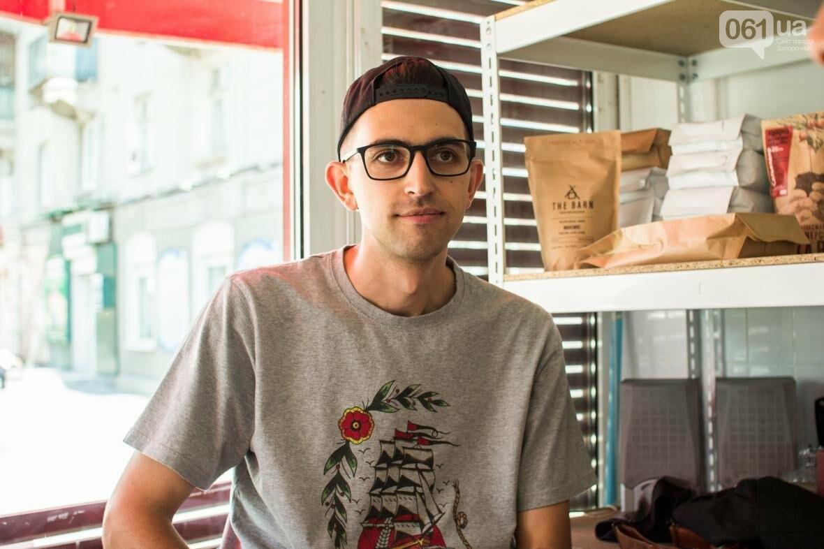 Как владелец «Jays Coffee» научил запорожцев брать кофе с собой: история Джама Рахими, фото-1