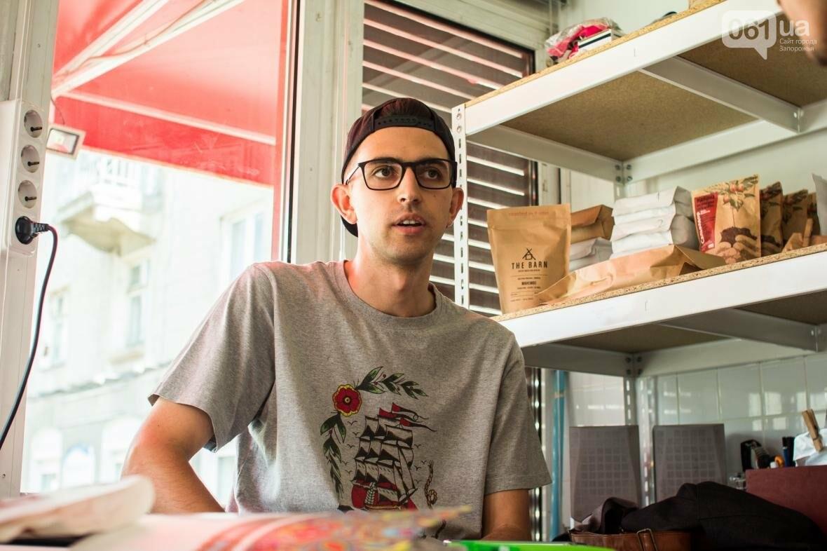 Как владелец «Jays Coffee» научил запорожцев брать кофе с собой: история Джама Рахими, фото-3