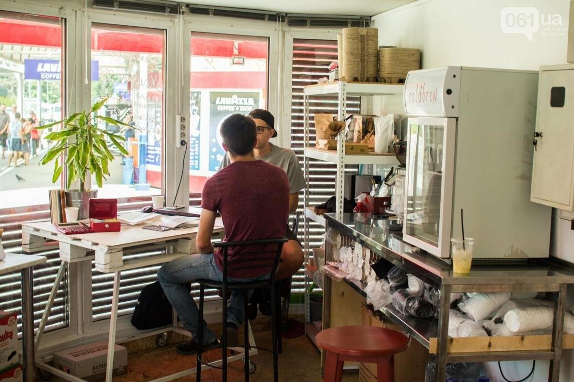 Как владелец «Jays Coffee» научил запорожцев брать кофе с собой: история Джама Рахими, фото-2