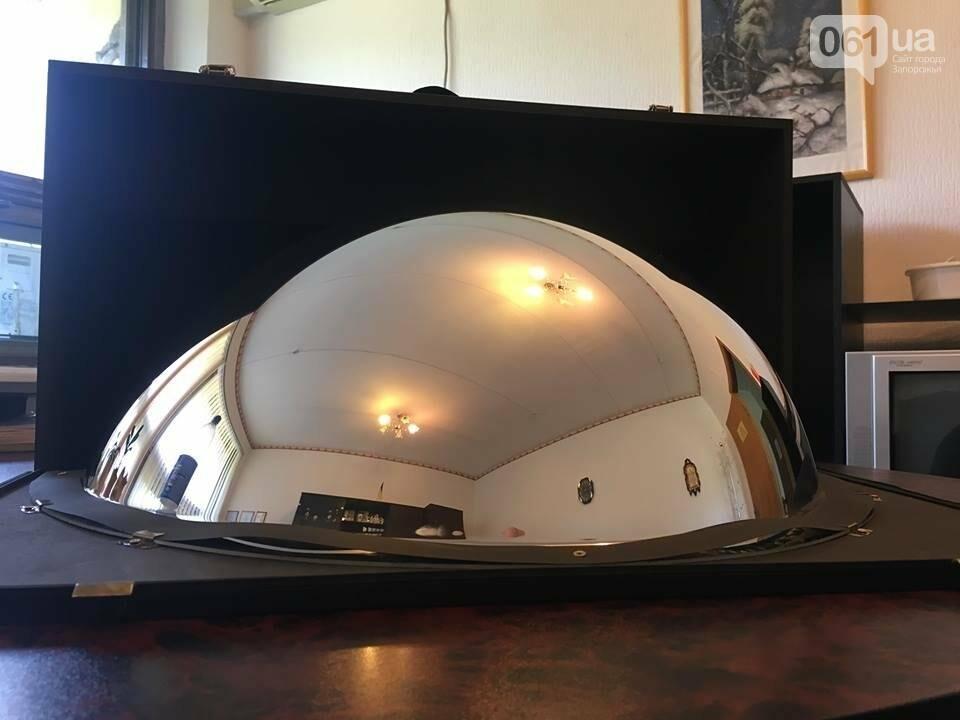 В Запорожье для будущего планетария привезли сферическое зеркало, - ФОТО, фото-1