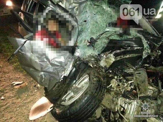 На запорожской трассе произошло смертельное ДТП: два человека погибли, — ФОТО 18+, фото-1