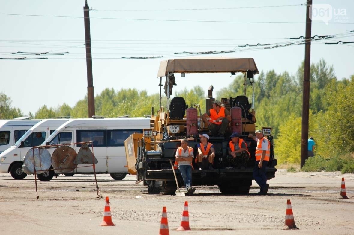 В Южном микрорайоне Запорожья ремонтируют одну из главных дорог района, - ФОТОРЕПОРТАЖ, фото-8