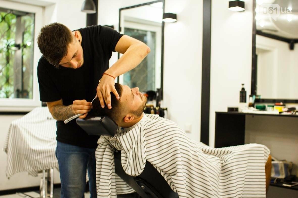 Не называйте это барбершопом: как 22-летний парень открыл в Запорожье мужскую парикмахерскую, фото-4