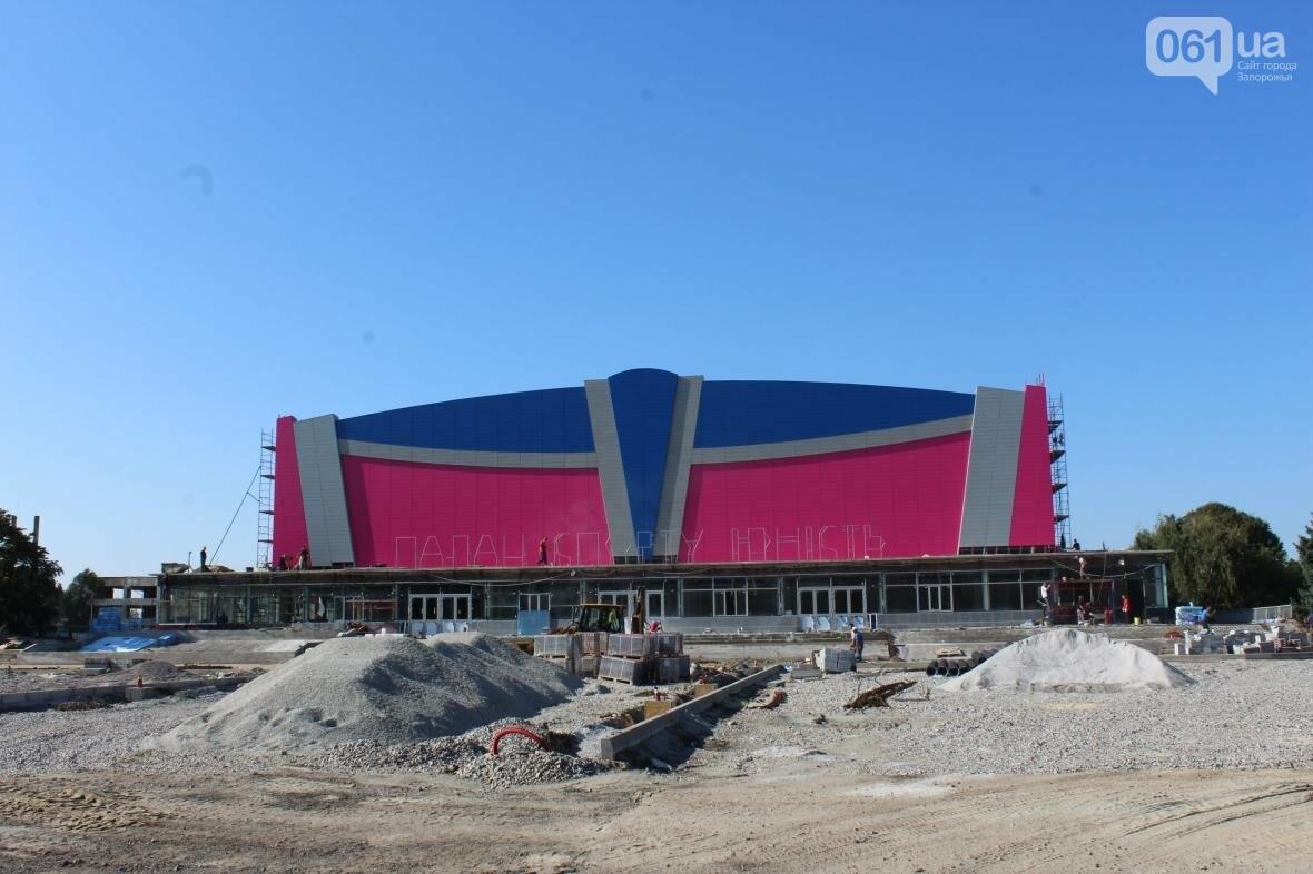 В Запорожье реконструируют дворец спорта «Юность: что уже сделано, — ФОТОРЕПОРТАЖ, фото-2