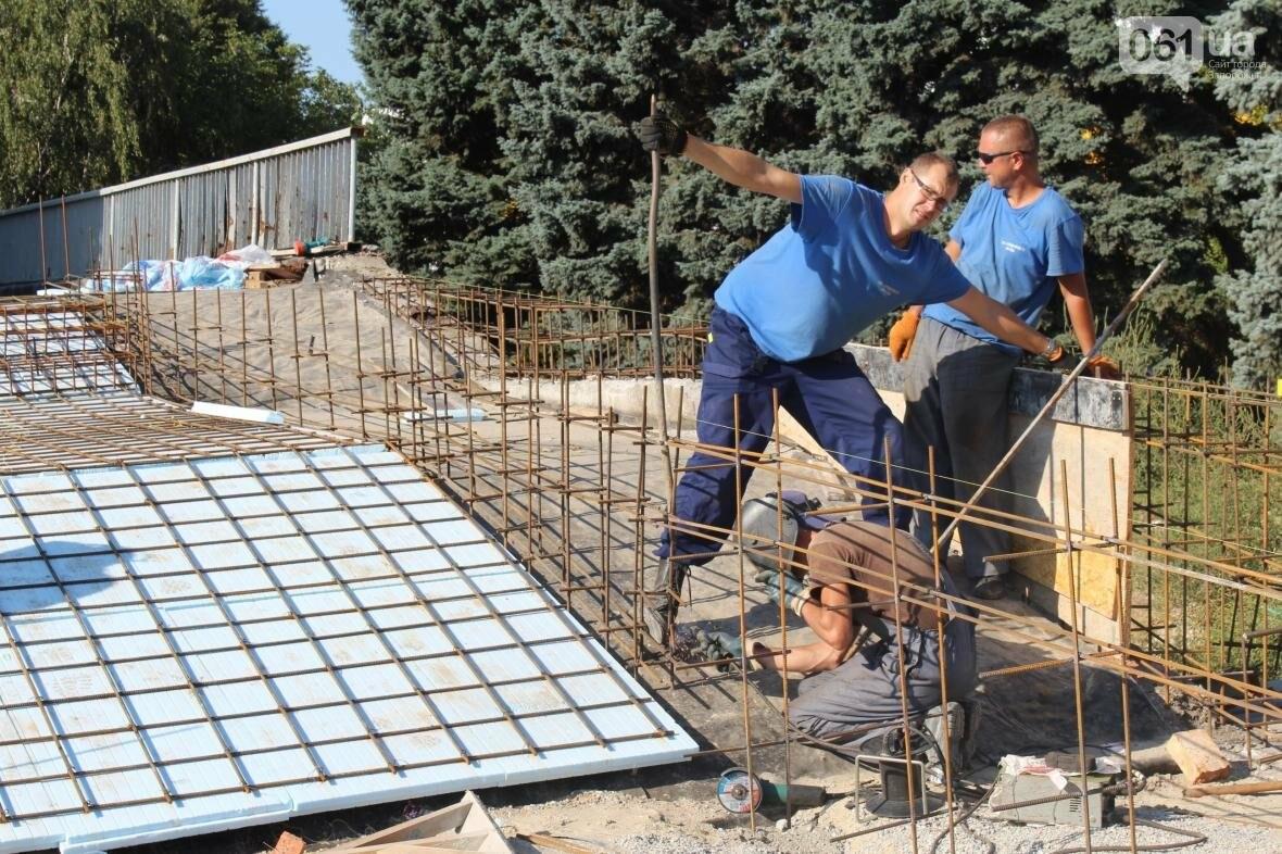 В Запорожье реконструируют дворец спорта «Юность: что уже сделано, — ФОТОРЕПОРТАЖ, фото-12