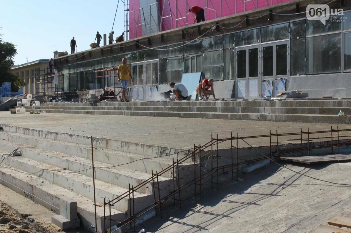 В Запорожье реконструируют дворец спорта «Юность: что уже сделано, — ФОТОРЕПОРТАЖ, фото-6