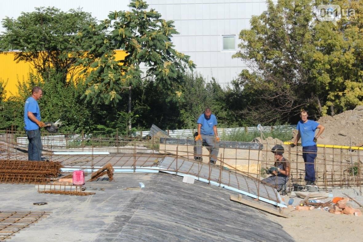В Запорожье реконструируют дворец спорта «Юность: что уже сделано, — ФОТОРЕПОРТАЖ, фото-10