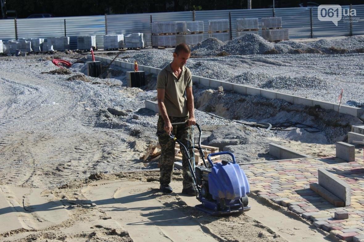 В Запорожье реконструируют дворец спорта «Юность: что уже сделано, — ФОТОРЕПОРТАЖ, фото-11