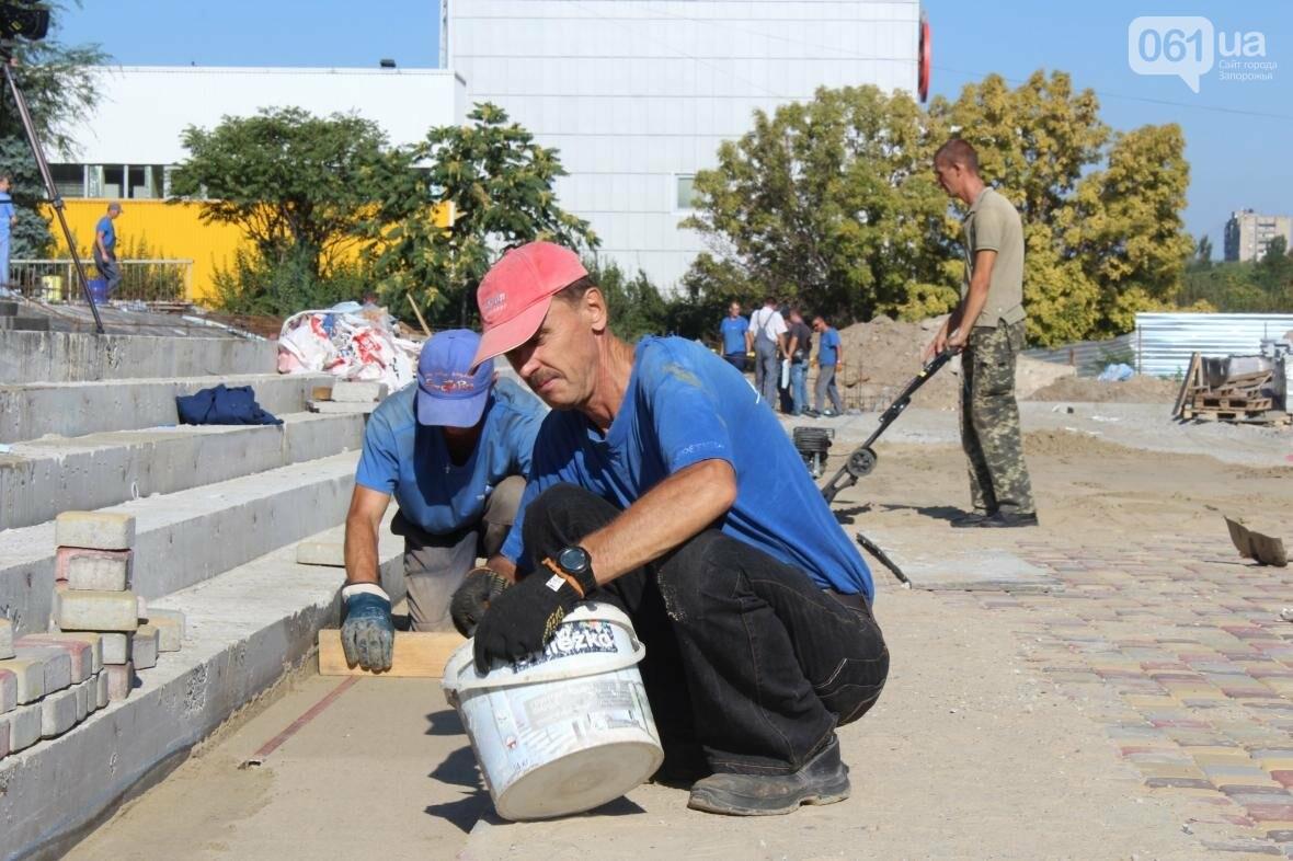 В Запорожье реконструируют дворец спорта «Юность: что уже сделано, — ФОТОРЕПОРТАЖ, фото-3