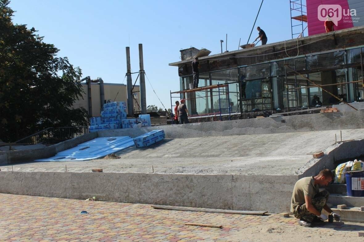 В Запорожье реконструируют дворец спорта «Юность: что уже сделано, — ФОТОРЕПОРТАЖ, фото-7