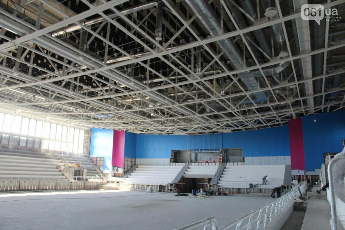 В Запорожье реконструируют дворец спорта «Юность: что уже сделано, — ФОТОРЕПОРТАЖ, фото-23